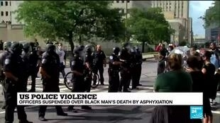 2020-09-04 08:06 Rochester police officers suspended over the death of Daniel Prude