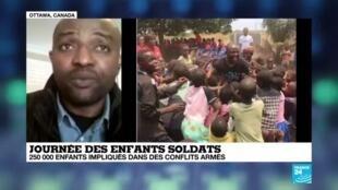 """2020-02-12 18:23 Journée internationale des enfants soldats: """"Des milliers d'enfants ne parviennent pas à sortir de ce traumatisme"""""""