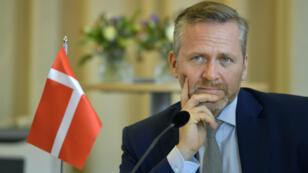 Le chef de la diplomatie danoise, Anders Samuelsen, a mis en garde Téhéran, le 30 octobre 2018.