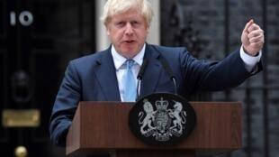 رئيس الوزراء البريطاني بوريس جونسون في لندن، 2 سبتمبر/أيلول 2019.