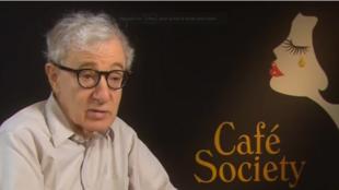 """Woody Allen a présenté """"Café Society"""", son 46e film, au Festival de Cannes."""