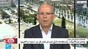 مراسل فرانس24 في تونس نور الدين مباركي.