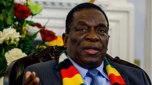 Emmerson Mnangagwa a remplacé Robert Mugabe à la tête du Zimbabwe en 2017.
