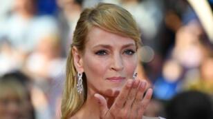 Uma Thurman en una imagen de archivo del Festival de Cannes. 23/5/17