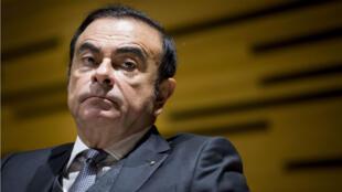 El expresidente de Nissan, Carlos Ghosn, acusado de fraude financiero en Japón. Archivo.
