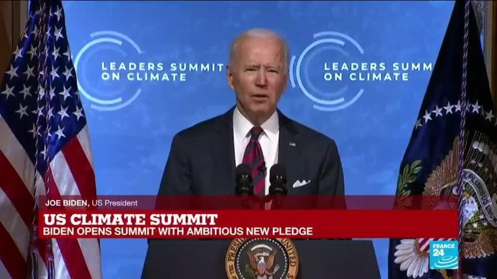 2021-04-22 14:09 Biden calls climate action a 'moral and economic imperative'