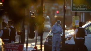 AFP file photo   A scene near Finsbury Park Mosque, North London.