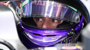 Ready to get going - Renault's Australian driver Daniel Ricciardo