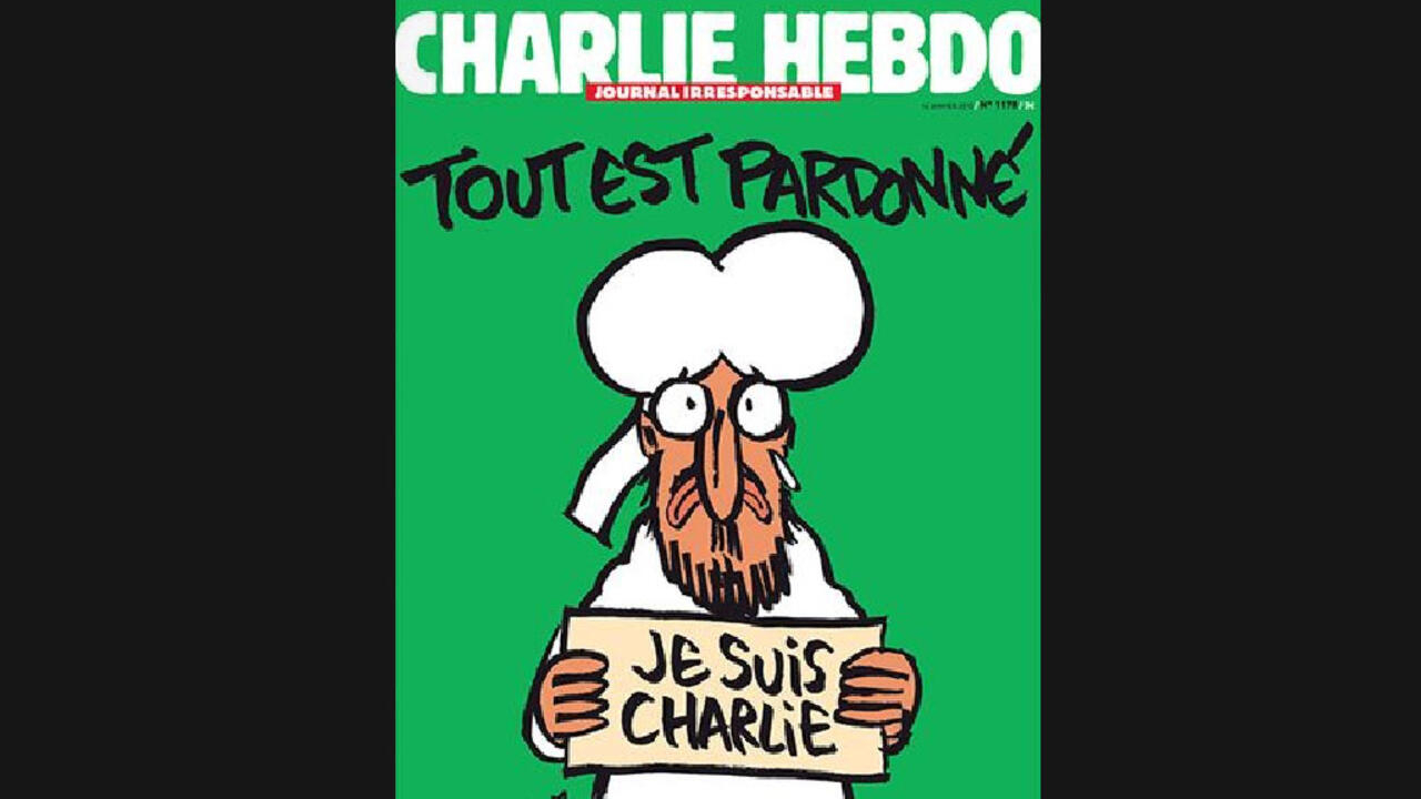 Post Attack Charlie Hebdo Cover Uses Prophet Cartoon