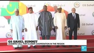 2019-12-16 06:06 G5 Sahel leaders hold crisis summit in response to deadly jihadist attack in Niger