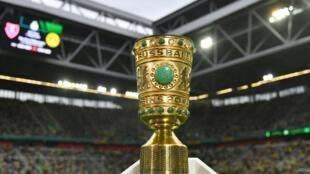 صورة مؤرخة في 9 آب/أغسطس 2019 في دولسدورف للكأس الألمانية قبيل انطلاق مباراة الدور الأول بين بوروسيا دورتموند واويردنغن
