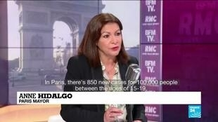 2021-03-31 12:01 'The situation is dire': Paris mayor calls for schools to be closed to rein in Covid-19