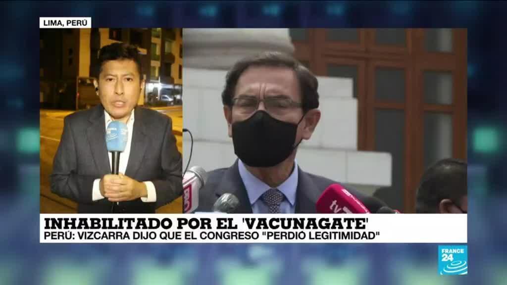 """2021-04-17 13:36 Informe desde Lima: Martín Vizcarra acusó al congreso peruano de """"perder legitimidad"""""""