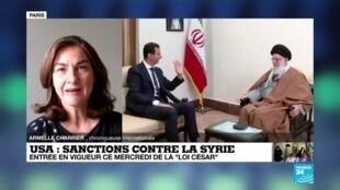 2020-06-17 12:07 Sanctions américaines contre la Syrie : nouvel arsenal contre le régime Assad