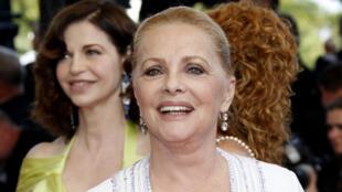 Virna Lisi au Festival de Cannes 2009.