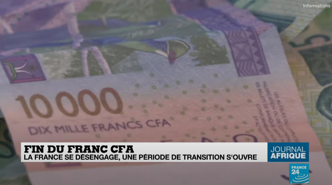 Fin du Franc CFA