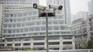 Caméras de surveillance à Shanghai.