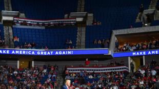 Trump Tulsa Tiktok etats unis