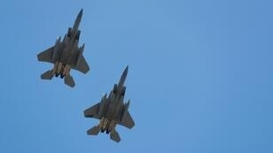 US aircraft including F-15C Eagle fighter planes will train with about 30 Ukrainian aircraft