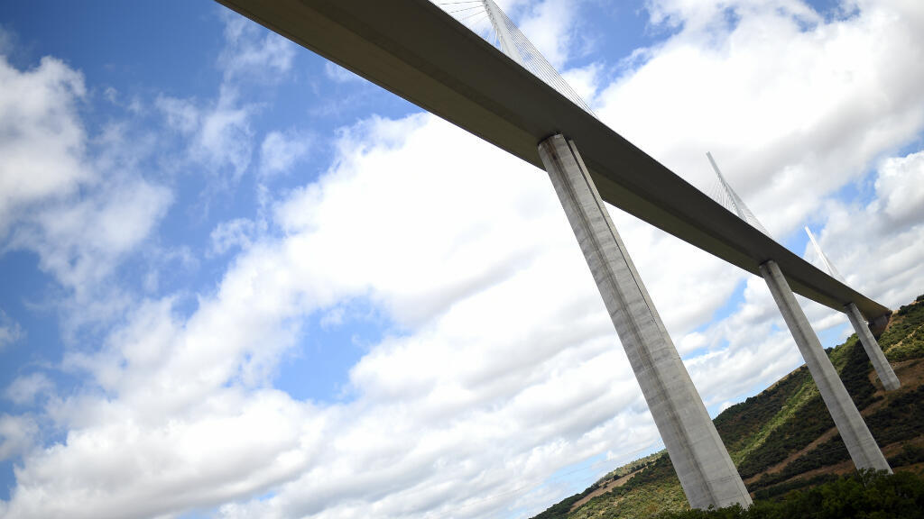 Le viaduc de Millau, en 2015. Il a été jugé en très bon état par le ministère des Transports.