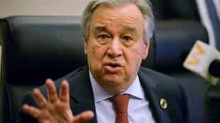 "UN chief Antonio Guterres said the World Health Organization was ""irreplaceable""."