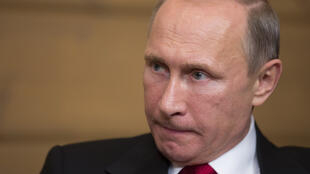 """Le président russe Vladimir Poutine s'en est pris à """"Charlie Hebdo""""."""
