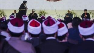 """مشهد عام للمشاركين في مؤتمر """"الحرية والمواطنة"""" في القاهرة في 28 شباط/فبراير 2017"""