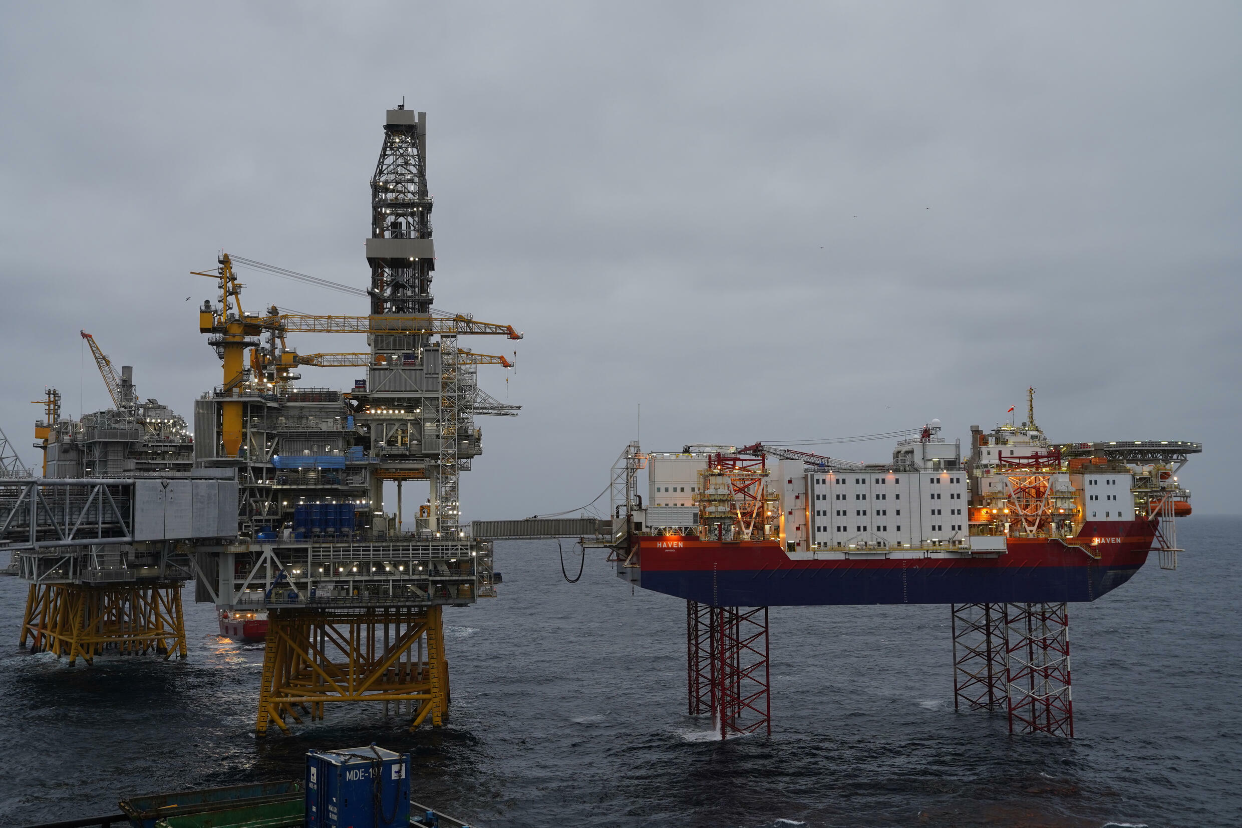 Norway is western Europe's biggest oil producer