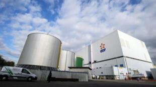 La centrale nucléaire de Fessenheim, doyenne des centrales françaises.