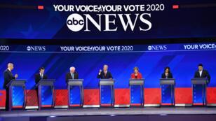 Dix candidats démocrates ont débattu jeudi 13 septembre à Houston, au Texas.