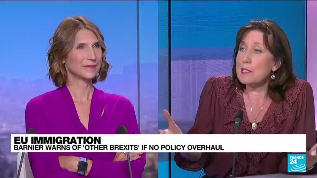 2021-09-15 13:07 Barnier warns of 'other Brexits' if no EU immigration overhaul