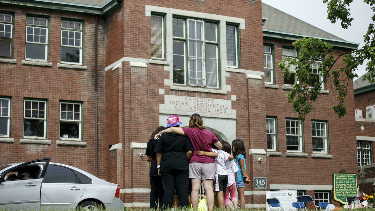 Catholic Church apologises for century of abuses in Canada's residential schools
