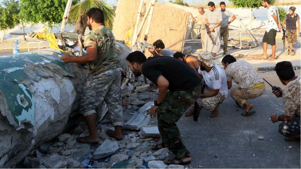 Les forces du gouvernement libyen d'union nationale ont repris une grande partie de la ville de Syrte.