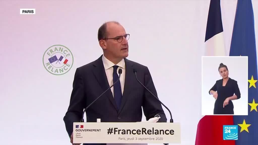 """2020-09-03 13:03 Le gouvernement présente le plan de relance de l'économie baptisé """"France Relance"""""""