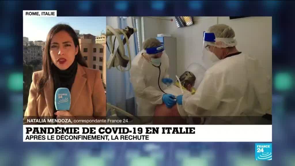 2021-03-10 08:04 Pandémie de Covid-19 en Italie : après le déconfinement, la rechute