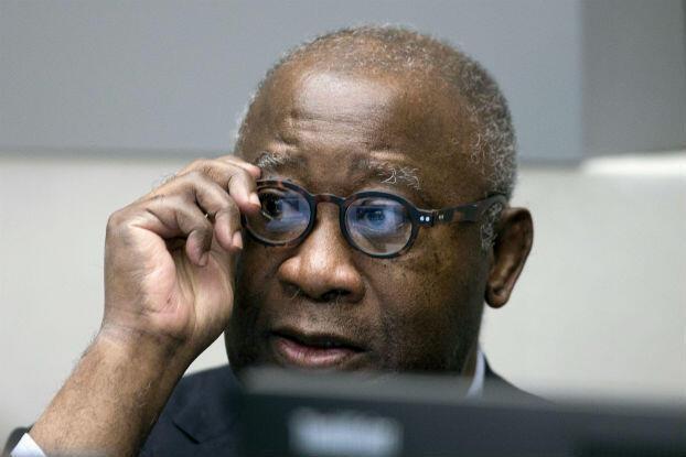 Laurent Gbagbo avant le début de osn procès à la CPI, le 28 janvier 2016.