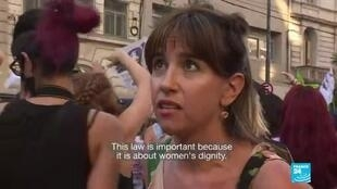 2020-12-11 09:10 'We have the right to decide about our bodies': Argentine congress debates abortion rights
