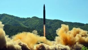 عملية إطلاق صاروخ عابر للقارات في 4 تموز/يوليو 2017