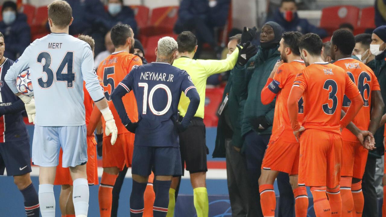 PSG Basaksehir suspended
