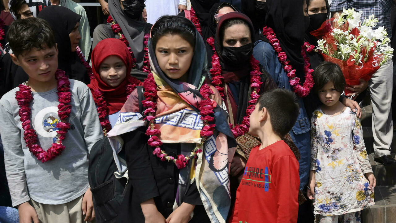De jeunes footballeuses afghanes se réfugient au Pakistan