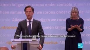 2020-10-14 14:03 Coronavirus pandemic: Netherlands return to a 'partial lockdown'