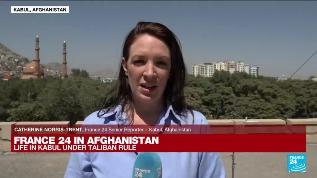 2021-08-25 08:00 FRANCE 24 in Kabul: Taliban declare route to airport only open to foreigners