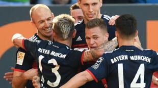 Le Bayern n'a pas eu à forcer son talent pour venir à bout d'Augsbourg.