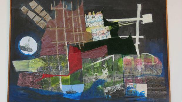 Ce tableau de N'Guessan Kra dénonce les mirages de l'immigration clandestine