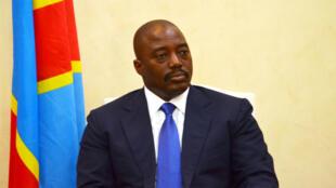 Le président congolais Joseph Kabila à Kinshasa en janvier 2015.