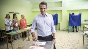 Le parti Nouvelle Démocratie de Kyriakos Mitsotakis devance largement le parti au pouvoir, Syriza.