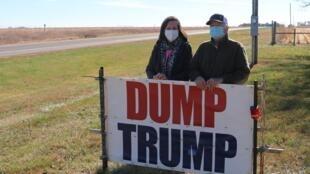 Nebraska Trump etats unis democrate