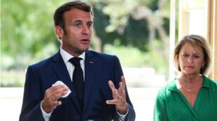 Macron Toulon Bourguignon covid 19