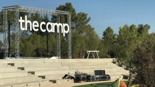 Le campus The Camp, entre Aix-en-Provence et Marseille.