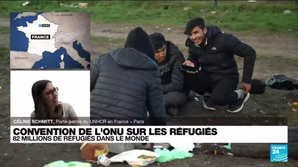 2021-07-28 16:03 Il y a 70 ans, 149 pays ratifiaient la convention de Genève qui régit le statut des réfugiés